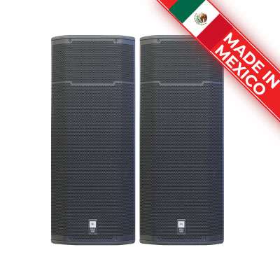 Loa JBL PRX 425 (2 bass 40cm, SX: Mexico)