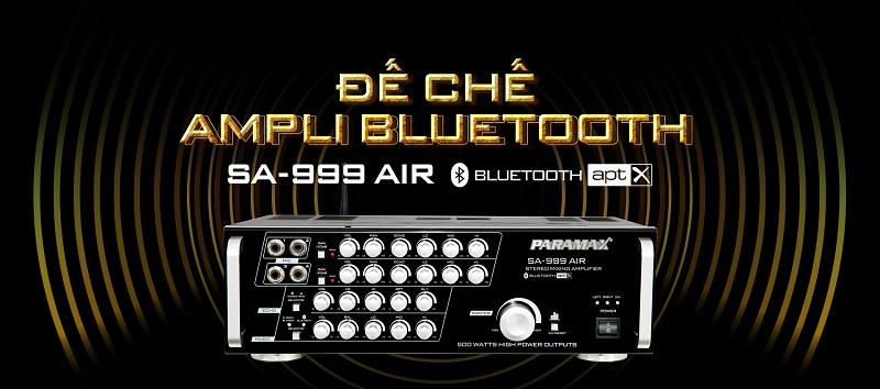 Amply karaoke Paramax SA999 AIR xử lý âm thanh chuyên nghiệp
