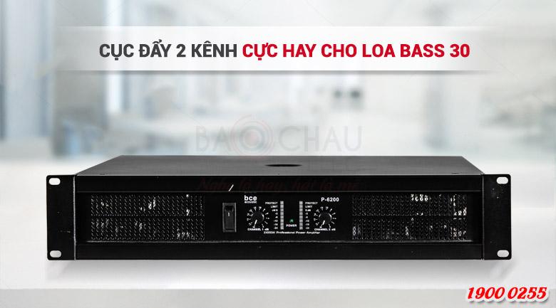 Cục đẩy công suất BCE P-6200 khuếch đại âm thanh mạnh mẽ