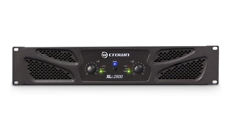 Cục đẩy công suất Crown XLi 2500 khuếch đại âm thanh mạnh mẽ