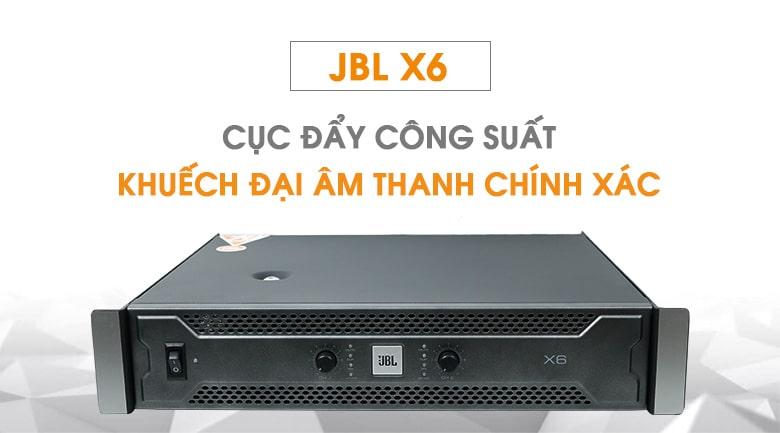 Cục đẩy công suất JBL X6