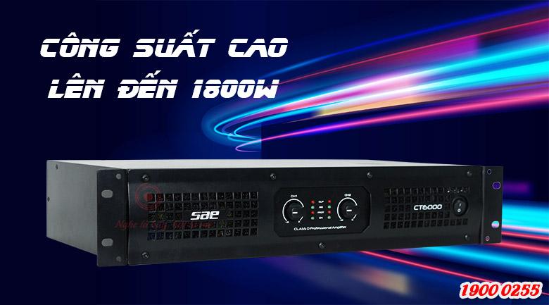 Cục đẩy SAE CT6000 cho công suất khủng