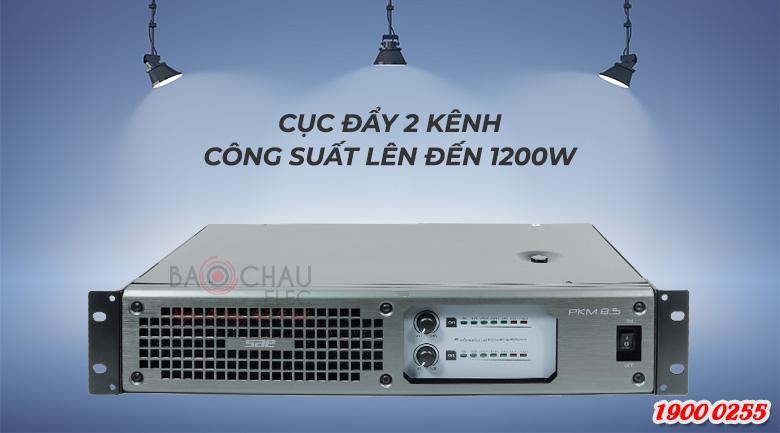 Cục đẩy công suất SAE PKM 8.5 sử dụng mạch Class I hiện đại