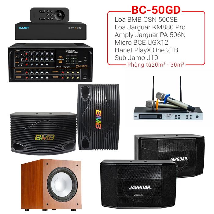 Dàn karaoke gia đình BC-50GD
