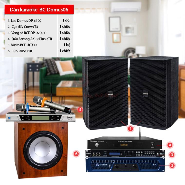 Dàn karaoke gia đình BC-Domus06