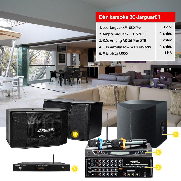 Dàn karaoke gia đình BC-jarguar01