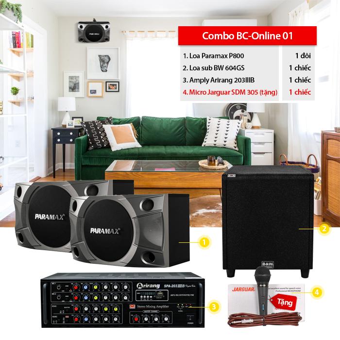 Dàn karaoke gia đình BC-Online01