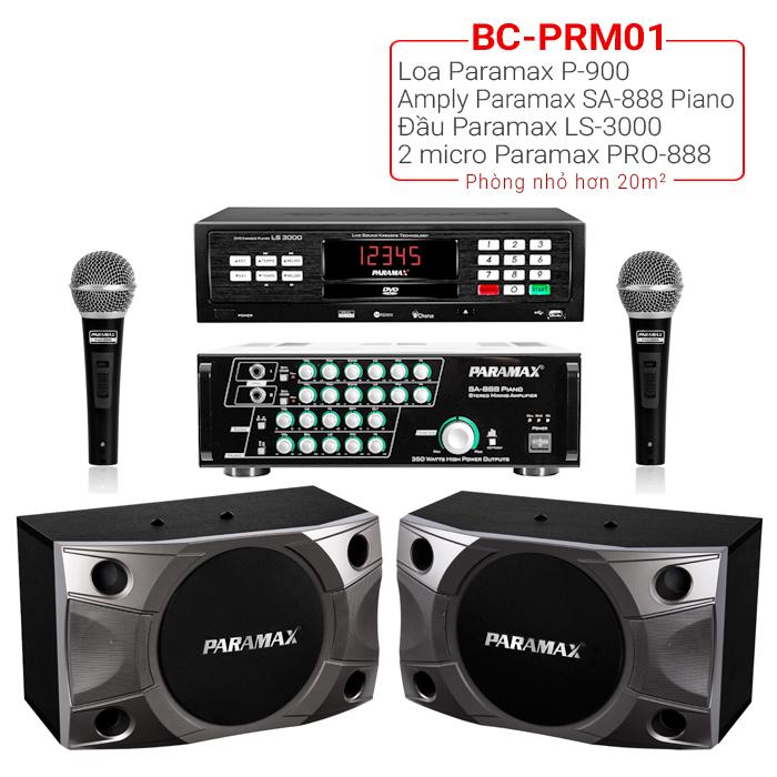 Dàn karaoke gia đình BC-PRM01 giá rẻ nhất thị trường
