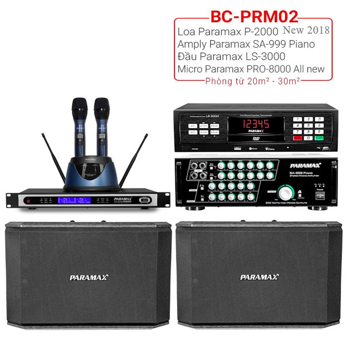 Dàn karaoke gia đình BC-PRM02 chính hãng, giá rẻ