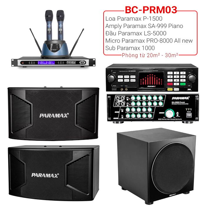 Dàn karaoke gia đình BC-PRM03