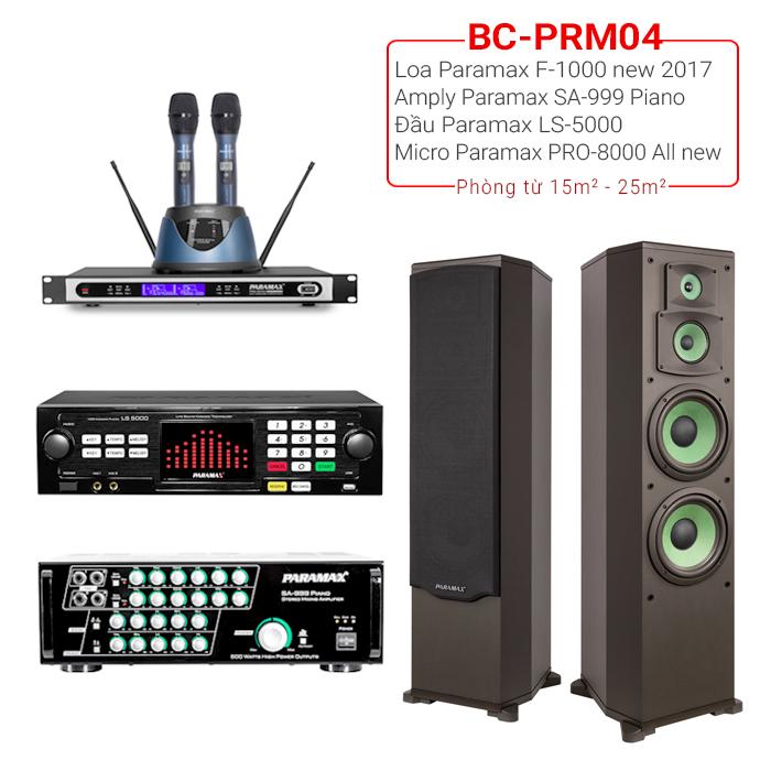 Dàn karaoke gia đình BC-PRM04