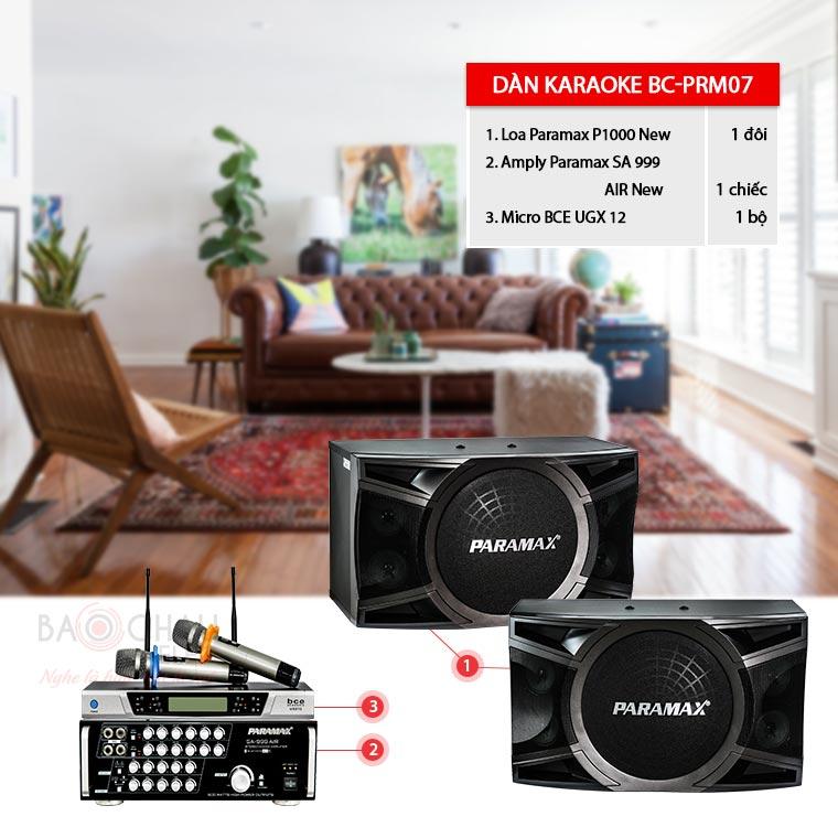 Dàn karaoke Paramax BC-PRM07