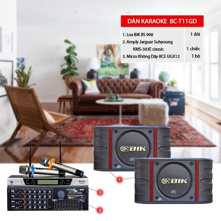 Dàn karaoke gia đình BC-T11GD