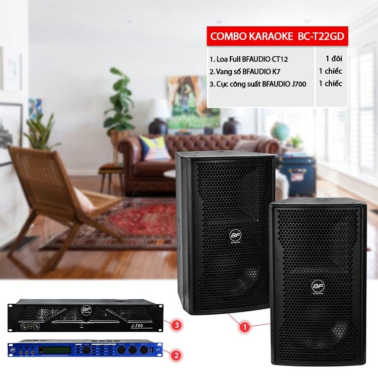Dàn karaoke gia đình BC-T22GD