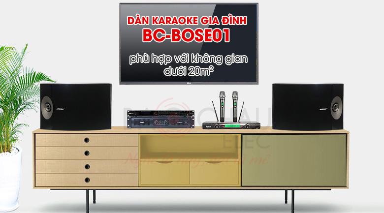 Dàn karaoke gia đình Bose01 hát hay, giá tốt