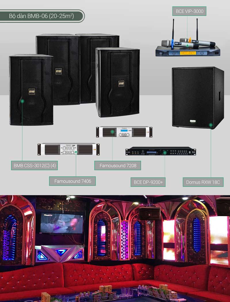 Dàn karaoke BC-BMB06
