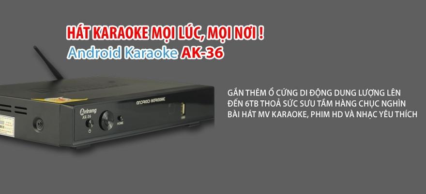 Đầu karaoke Arirang AK36 (không ổ cứng)
