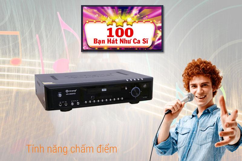 Đầu Arirang AR-3600HD kho bài hát khổng lồ
