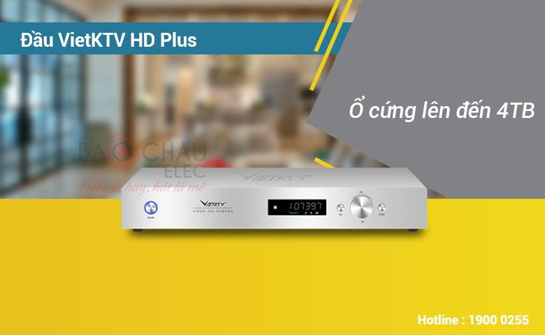 Đầu Karaoke Việt KTV HDPlus 4TB sở hữu kho nhạc khổng lồ