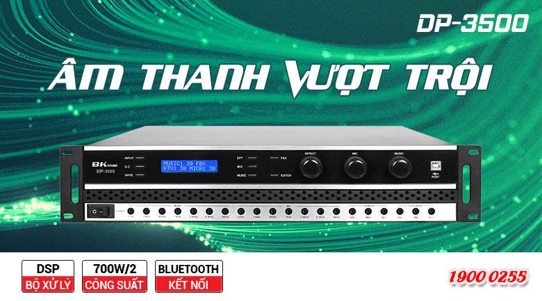 Đẩy liền vang BKSound DP3500 khả năng tinh chỉnh âm thanh hoàn hảo