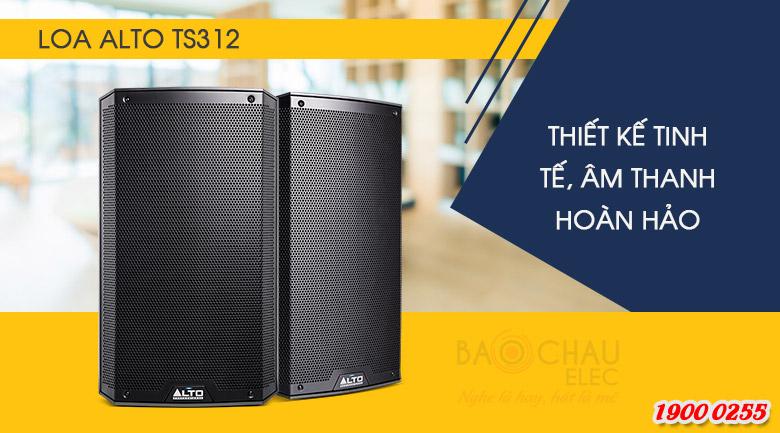 Loa Alto TS312 sở hữu công suất cực đại lên đến 2000W