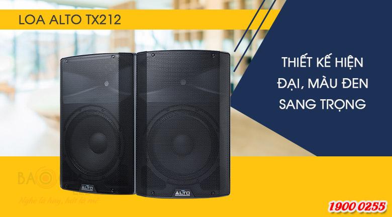 Loa Alto TX212 là hệ thống 2 loa, 2 đường tiếng, củ bass 30cm