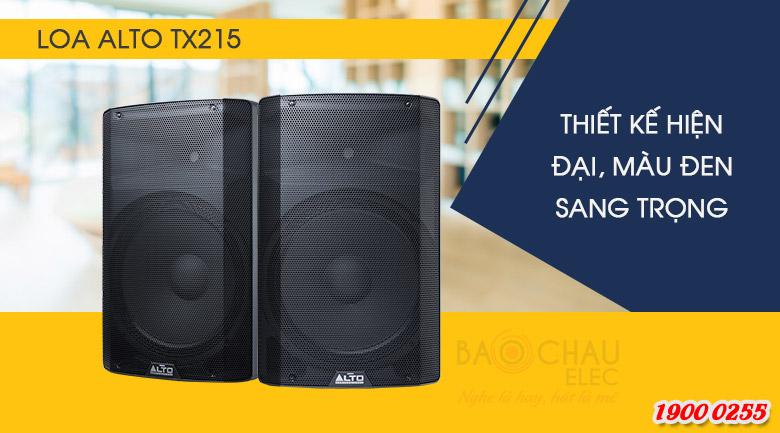 Loa Alto TX215 thiết kế hiện đại, sang trọng