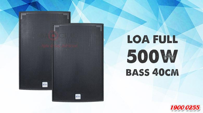 Loa karaoke Alto AT3000 sử dụng củ bass 40cm
