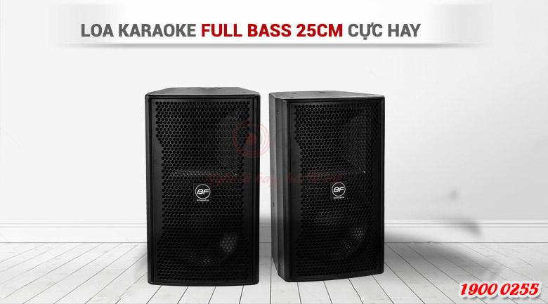 Loa karaoke BF audio CT-10mang kiểu dáng thùng đứng sang trọng