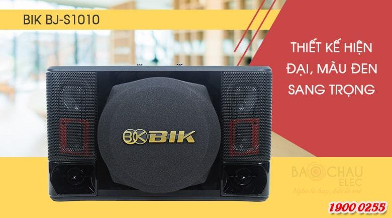 Loa karaoke BIK BJ-S1010 sở hữu ngoại hình bắt mắt