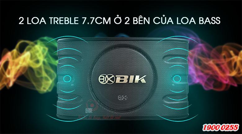 Loa BIK BJ S668 thiết kế mạnh mẽ, âm thanh sống động