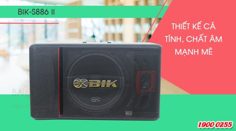 Loa karaoke BIK BJ S886II nhỏ gọn, đẹp mắt