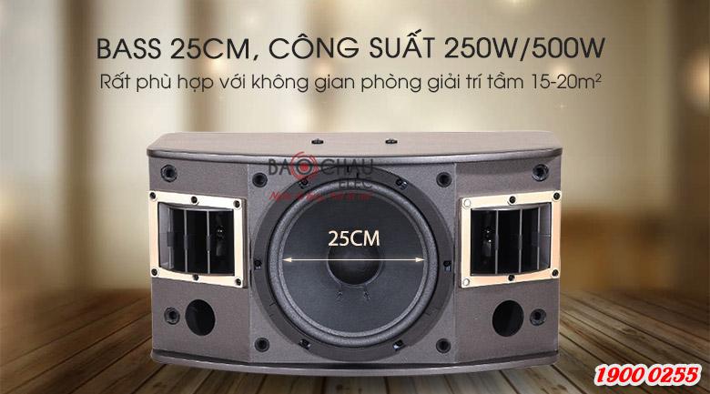 Loa karaoke BMB CSV 450SE là hệ thống 3 loa, 3 đường tiếng