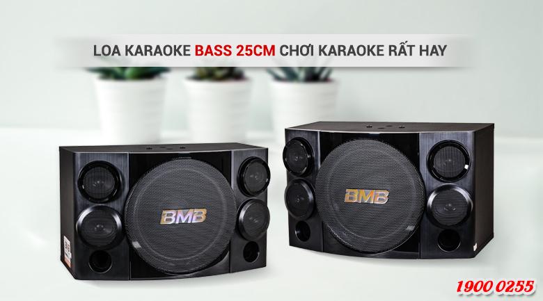 Loa karaoke BMB CSE 310II cho âm thanh đầy đủ các dải