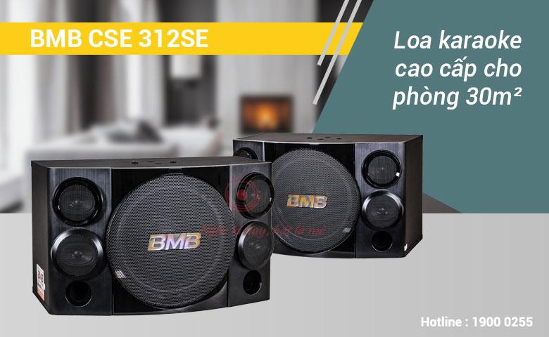 Loa karaoke BMB CSE 312SE vóc dáng nhỏ gọn