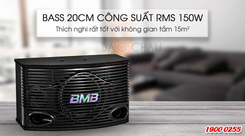 Loa Karaoke BMB 300SE cho âm thanh chắc khỏe