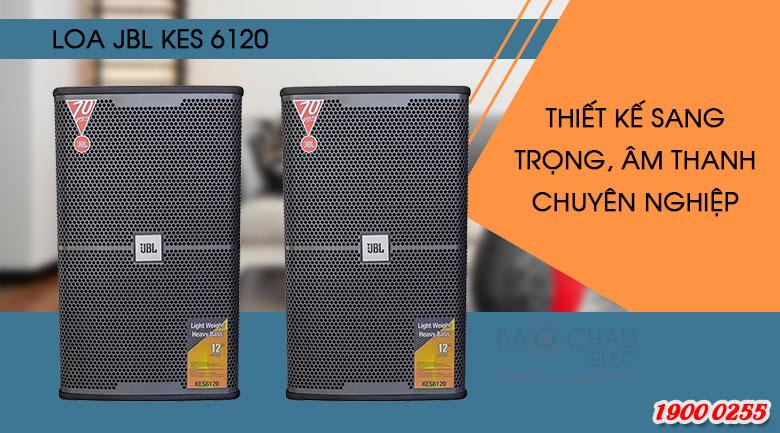 Loa karaoke JBL KES6120 cho âm thanh sống động