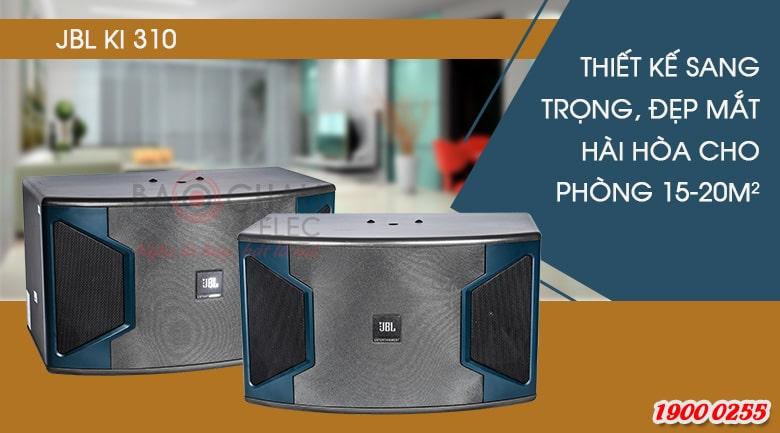 Loa karaoke JBL KI310 chuyên dụng cho phòng hát diện tích 15 - 20m2