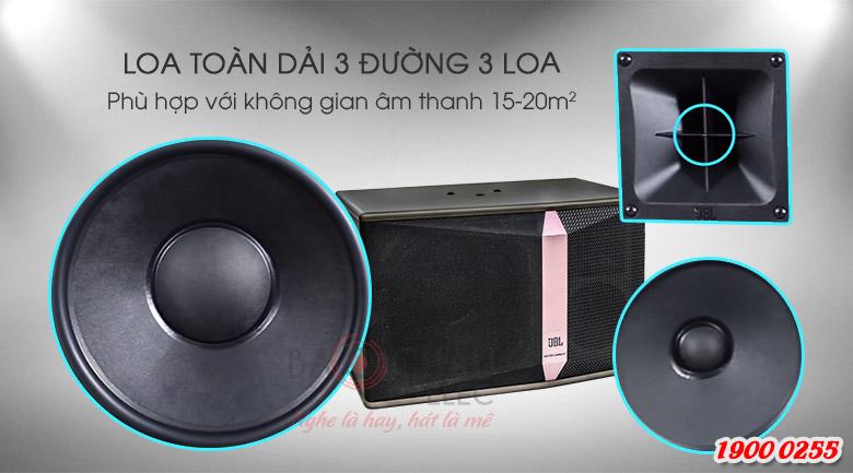 Loa JBL Ki510 (Ba Sao) là hệ thống 3 loa, 3 đường tiếng