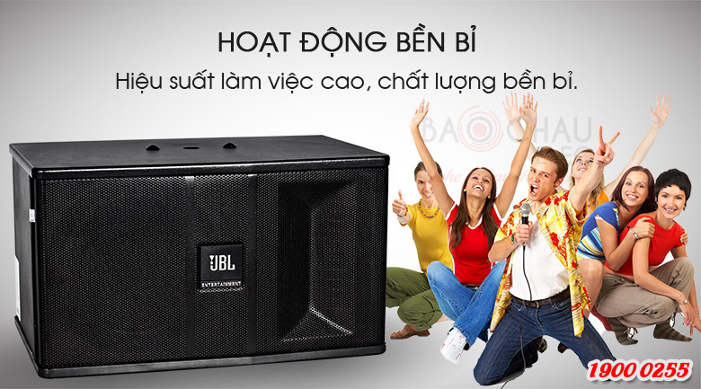 Loa karaoke JBL Ki81 sản xuất trên dây chuyền công nghệ hiện đại với nguồn linh kiện cao cấp