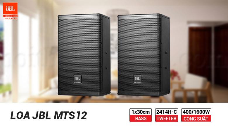 Loa JBL MTS12 cho âm thanh sống động, chân thực