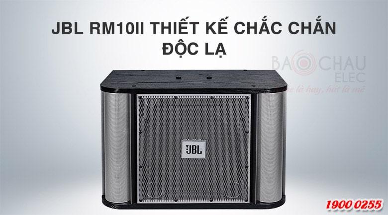 Loa karaoke JBL RM10II (PGI) thiết kế đẹp mắt