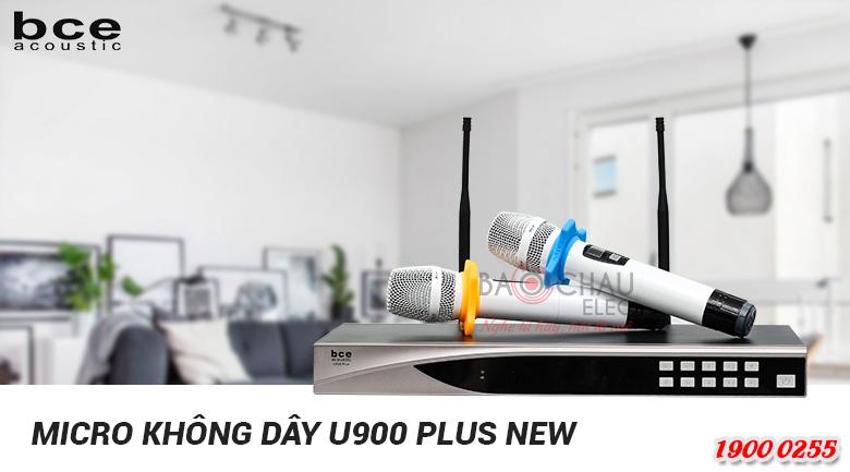 Micro không dây BCE U900 Plus New có cả, biến tự ngắt giúp tiết kiệm pin
