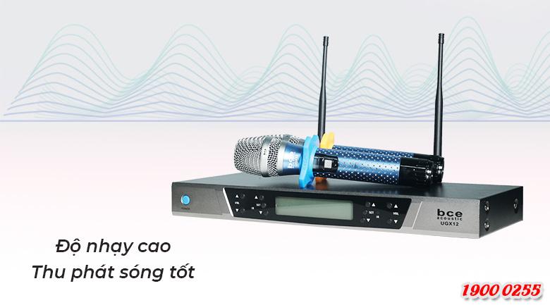 Micro BCE UGX12 Plus Luxury bắt âm cực nhạy