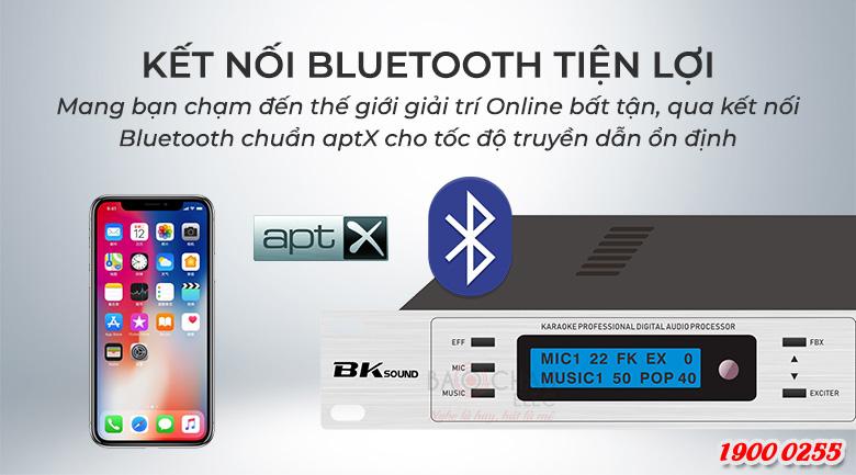 Vang số chỉnh cơ BKsound DSP9000 trang bị 3 chế độ chống hú