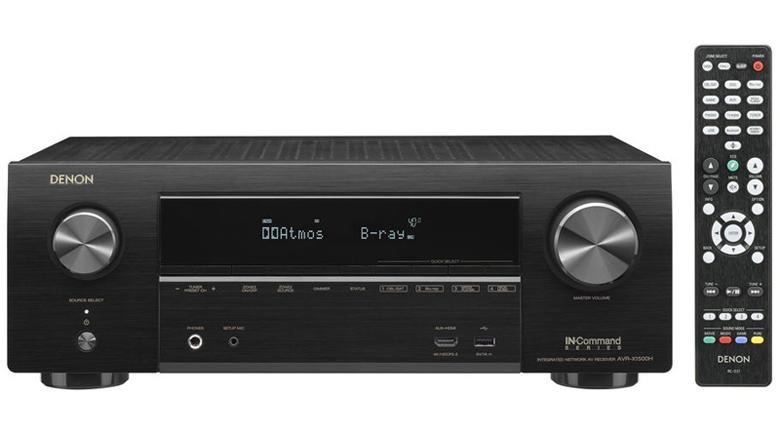 Amply Denon AVR X1500H xử lý âm thanh cực hay