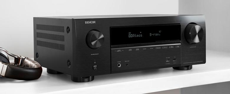 Amply Denon AVR X2500H thiết kế gồm 7 kênh