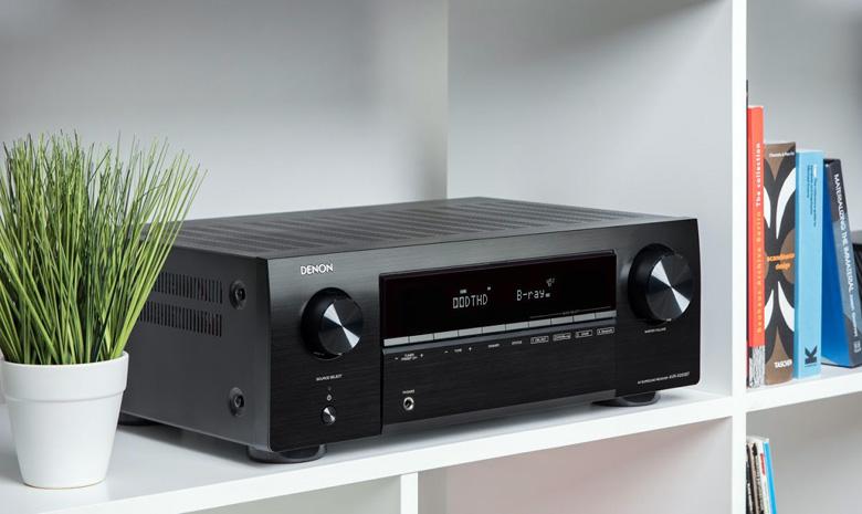 Amply Denon AVR-X250BT xử lý âm thanh cực hay