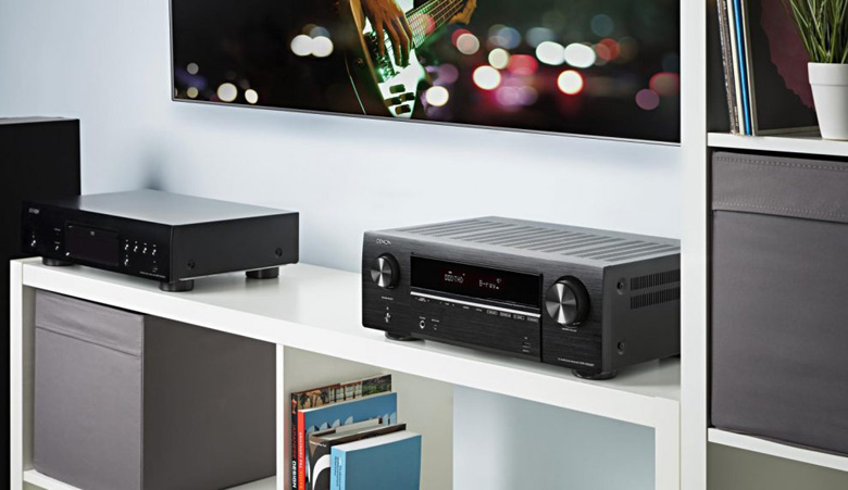 Amply Denon AVR-X550BT 5.2 kênh đem lại cho người dùng trải nghiệm đầy thú vị