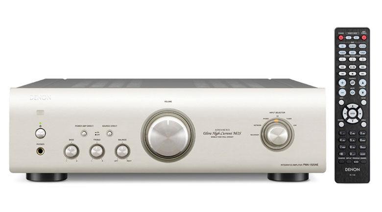 Amply Denon PMA 1520AE dễ dàng kéo được các cặp loa nghe nhạc trên thị trường